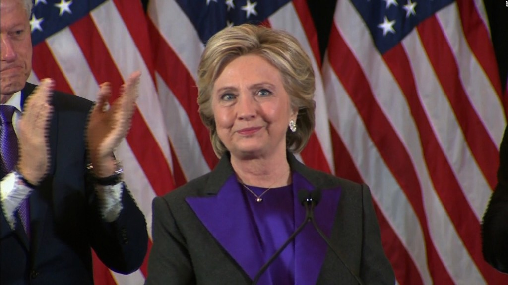Hillary Clinton: I offered to work with Trump