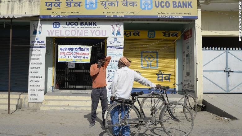 india bank shutdown