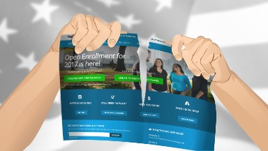 Trump pulls Obamacare ads days ahead of enrollment deadline
