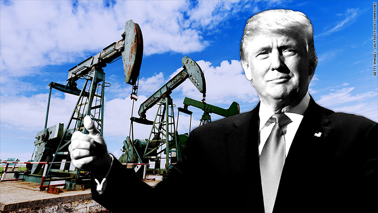 trump oil pumps