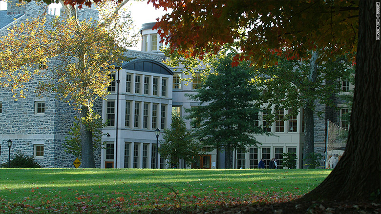 Haverford College - The 10 most expensive colleges in 2016 ...