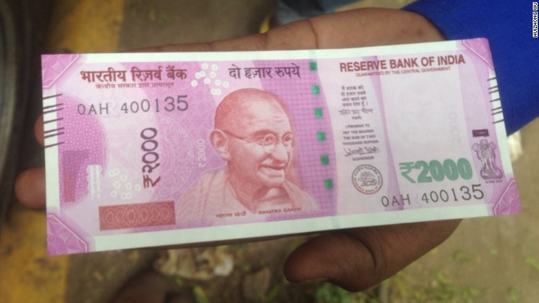 india rupee note new