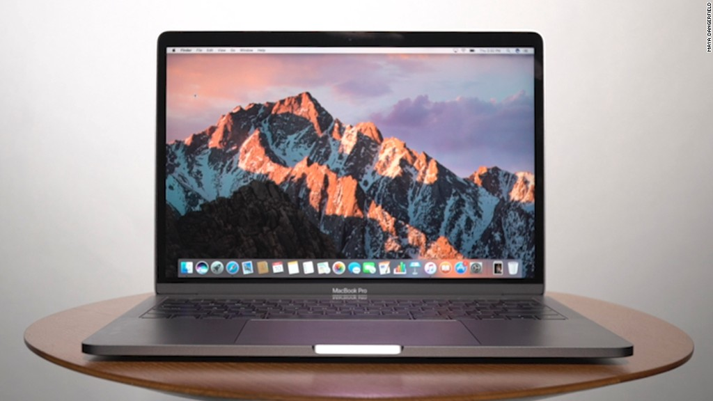 Hands on with the MacBook Pro