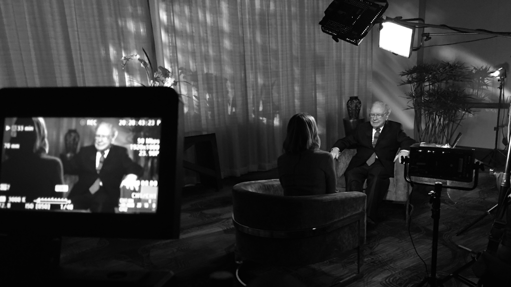One-on-one with Warren Buffett after the 2016 election