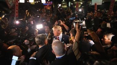 Backlash after Donald Trump ditches his press pool
