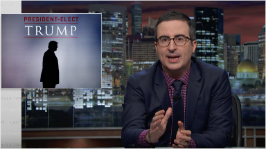 John Oliver on President-elect Trump: 'How the [expletive] did we get here?'