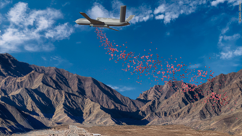 General Atomics Is Best Known For Making Drones Used To Attack ISIS And Al Qaeda Targets But Now One Of Its Aircraft Has A New Mission Delivering