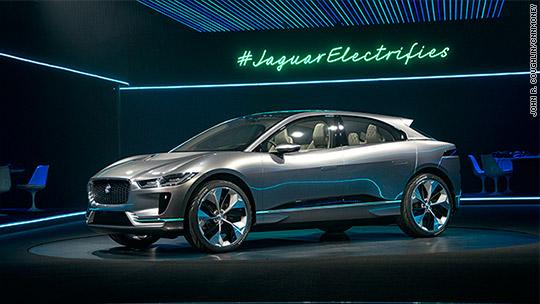 Jaguar reveals I-Pace, an electric SUV