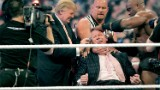 Trump body slammed critics and WWE soars