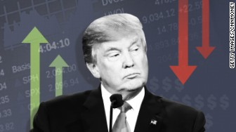 trump stock market shifts