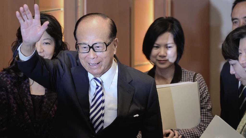 Li Ka-Shing in 60 seconds