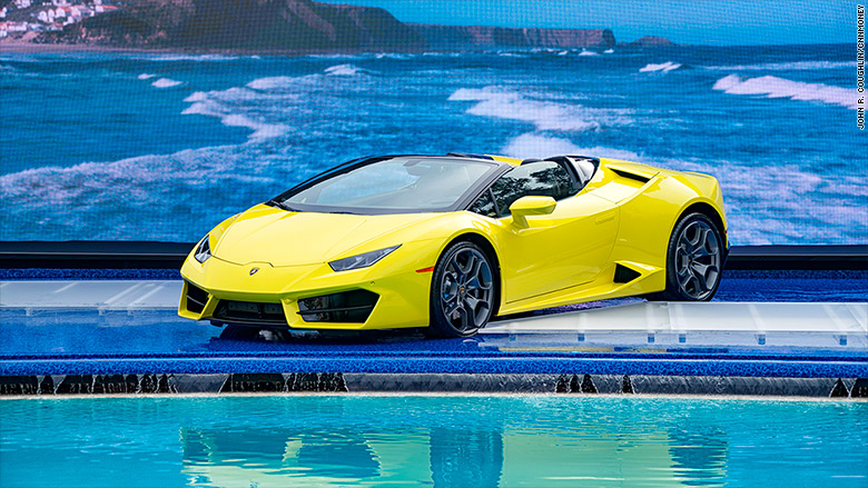 Lamborghini's new convertible should be a blast