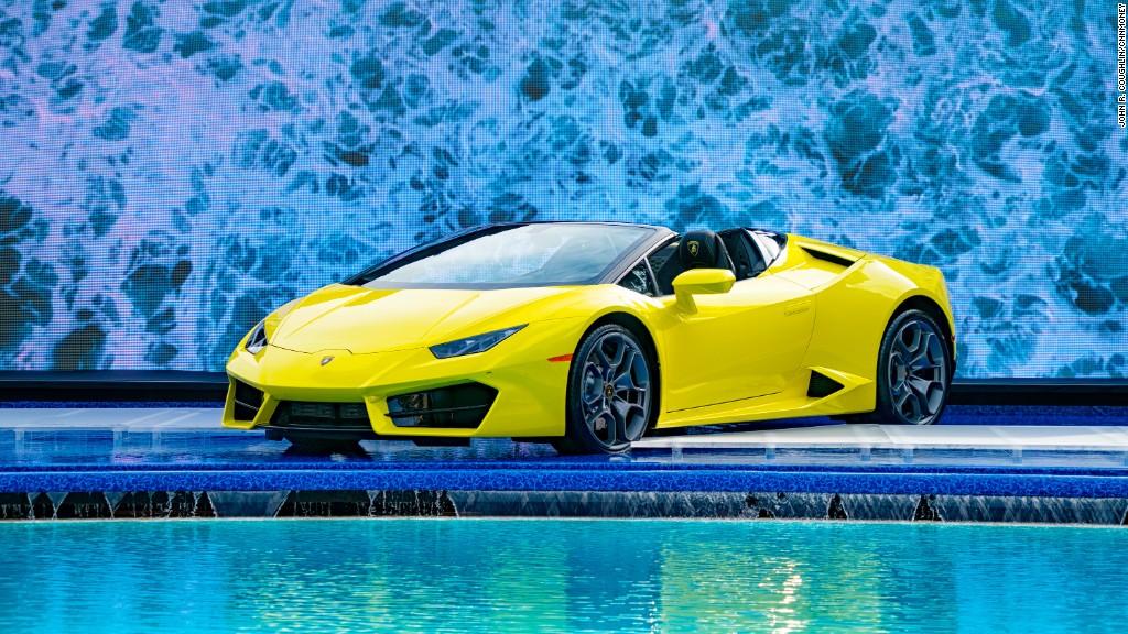 Lamborghini unveils soft-top Huracan 580-2 Spyder