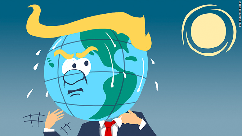 donald trump climate change
