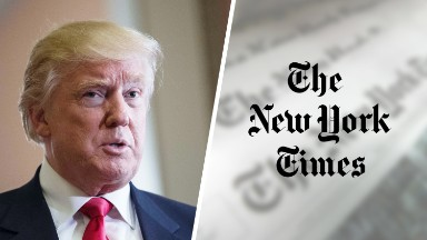 Trump's love-hate relationship with the (not) 'failing' New York Times