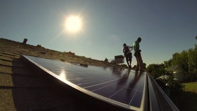 Solar jobs growing 17 times faster than US economy