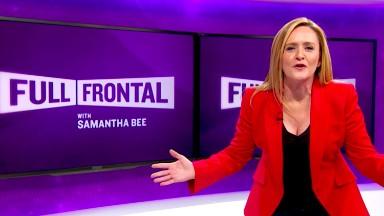 Samantha Bee's 'Full Frontal' renewed through 2017