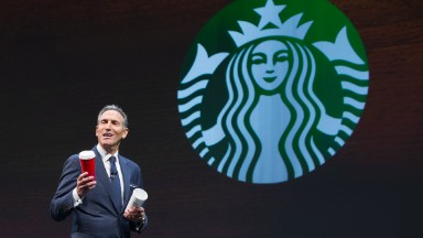Howard Schultz: Incoming CEO is 'better suited to run Starbucks'