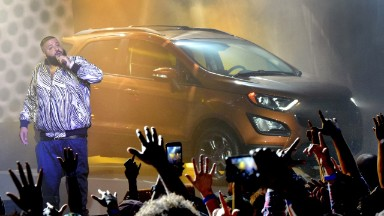 DJ Khaled unveils new Ford EcoSport on Snapchat