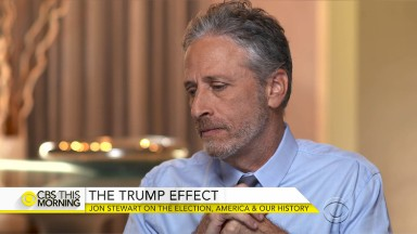 Jon Stewart: I don't believe we are a different country after election of Trump