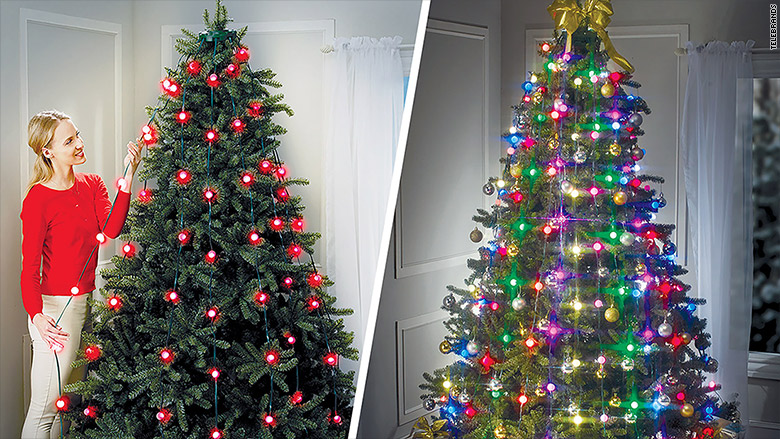 tree dazzler features 16 light patterns - Christmas Light Tree