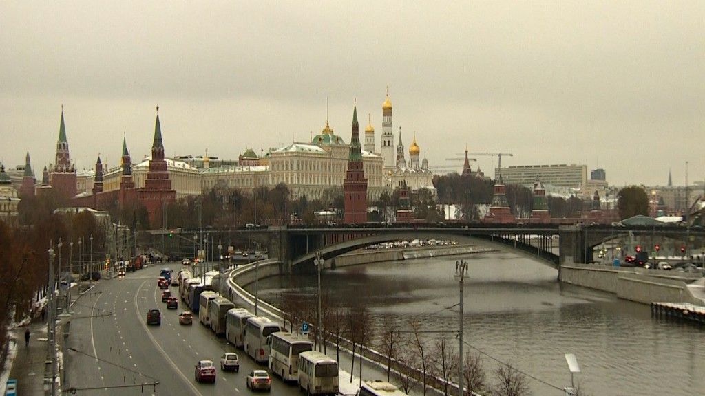 Getting lost around the Kremlin? Russia could be 'GPS spoofing' Google maps