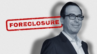 Treasury pick under fire for foreclosure practices