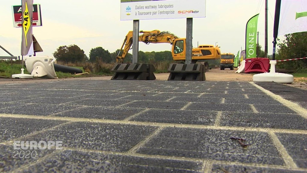 Turning roads green with solar power