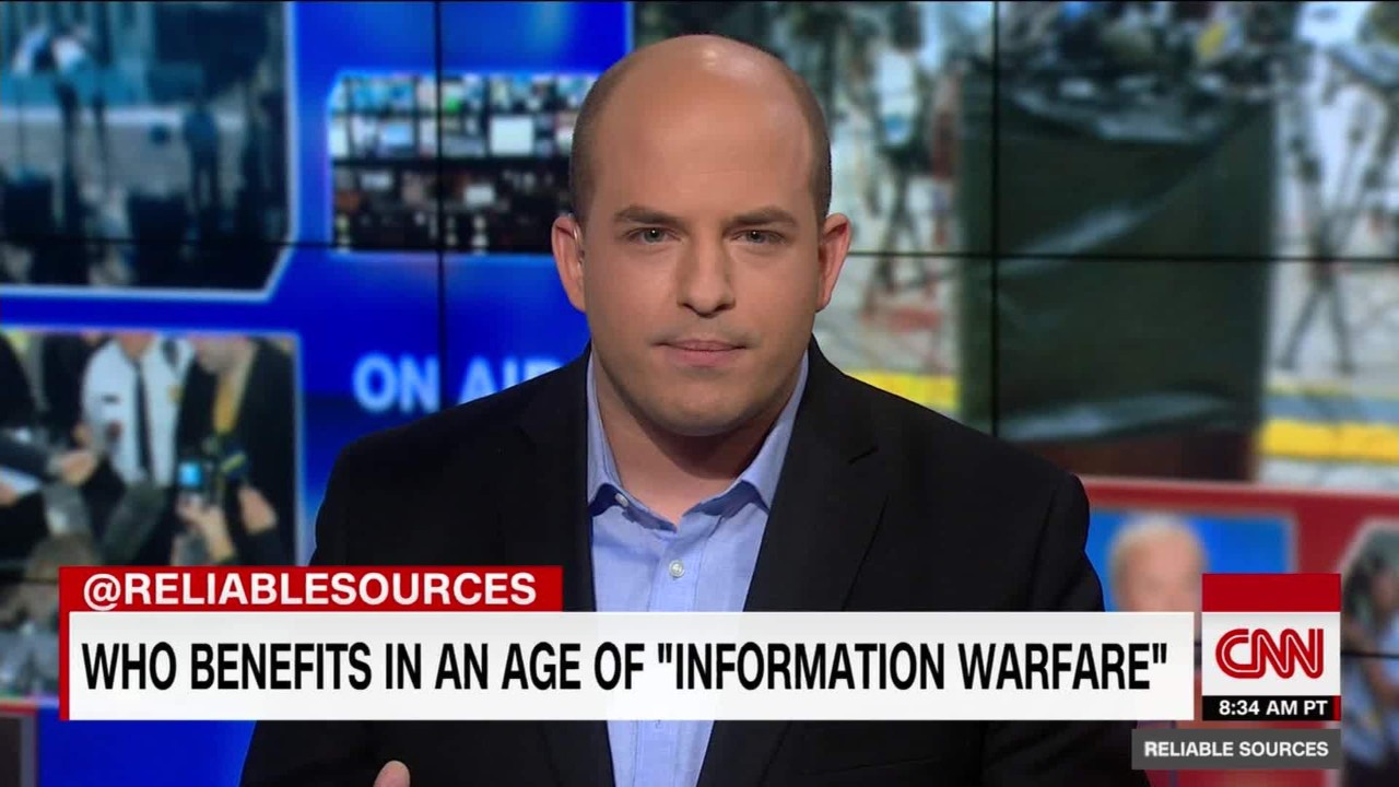 essay a new age of information warfare video media brian stelter s essay about the perils of fake news he says it breeds confusion and people in power benefit from confusion so refuse to be confused