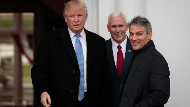 Donald Trump meets with 'the King of Hollywood'