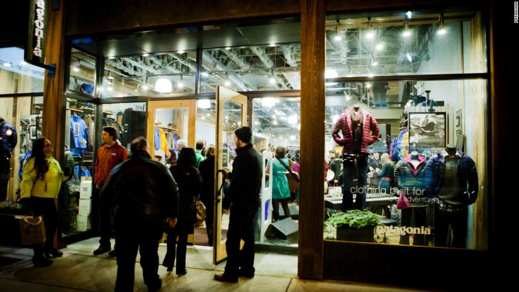 Patagonia donates Black Friday sales