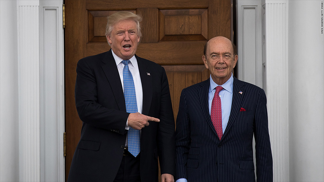 Trump inauguration; Time for Davos; Wilbur Ross confirmation