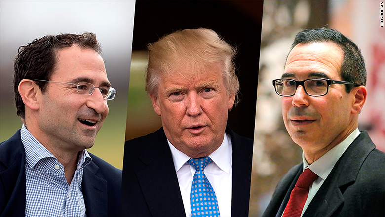 Trump down to two choices for Treasury secretary - Long Room