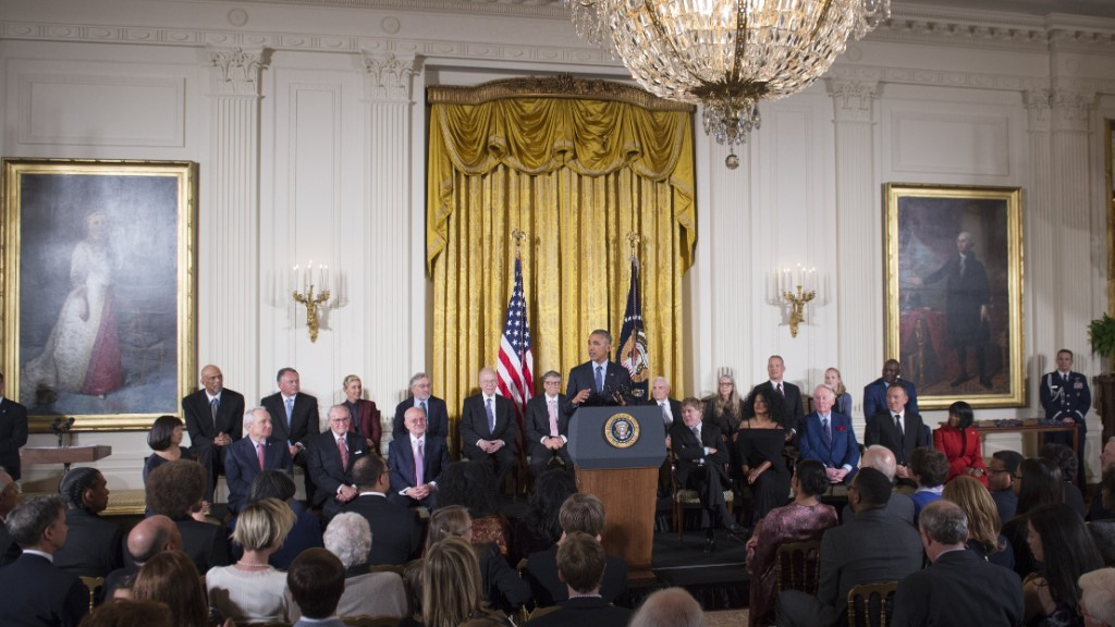 Obama awards Medal of Freedom to honorees