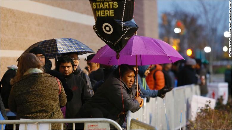 Распродажа в США - черная пятница в Нью-Джерси