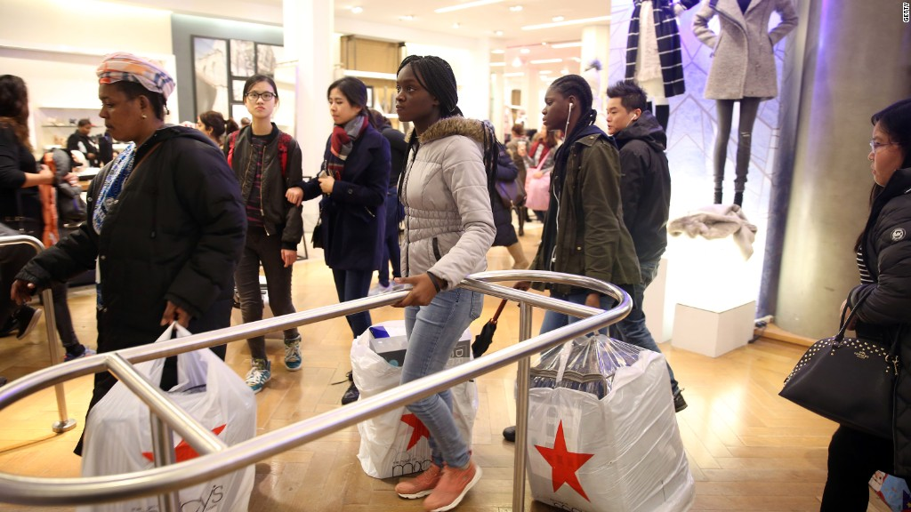 Macy's CEO on Black Friday frenzy, Trump clothing line