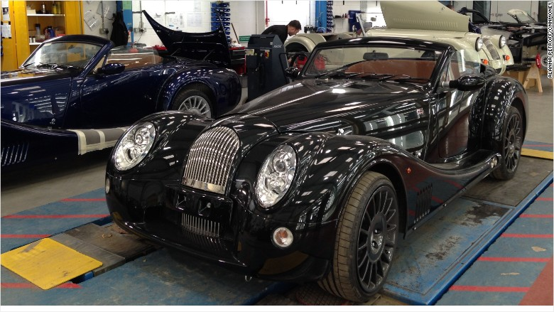 morgan motor car factory