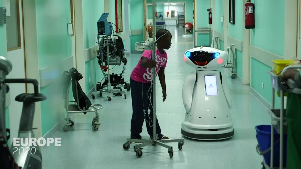 Using robot companions to help pediatric patients recover