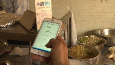 India's cashless companies win in rupee ban