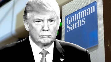 Trump fills top spots with Goldman Sachs employees