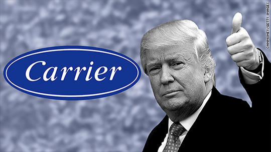 How Donald Trump got Carrier to stay