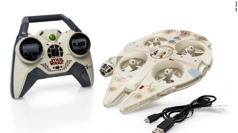 millennium falcon drone - 13 hottest tech gifts under $100 - cnnmoney