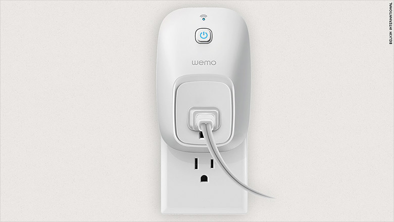 wemo switch smart plug - 13 hottest tech gifts under $100 - cnnmoney