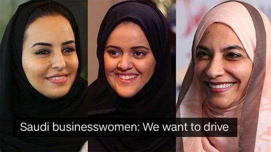 Women Saudi Driving