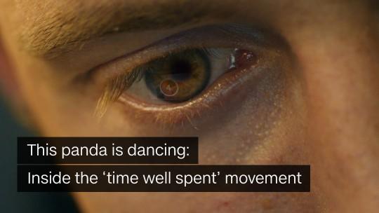 Panda is dancing