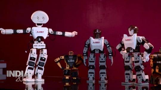 India's robotics industry is growing