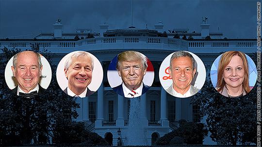 Introducing Trump's CEO dream team