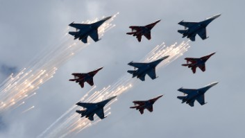Russia's arms sales rising while America's drop