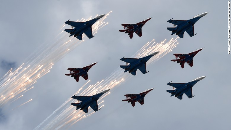 russia fighter jets