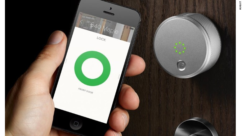 August smart lock. The 12 must-have tech gifts of 2016